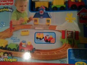 little people wheelies neu und ovp Eisenbahn set Fisher price