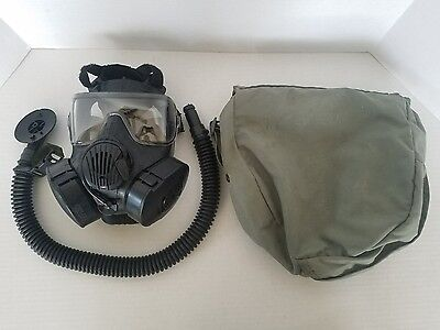 Medium Avon M50 Gas Mask w/ MOLLE Bag