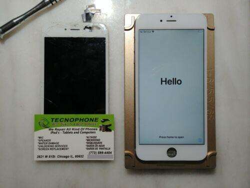 Iphone 6 Plus Cracked Glass Broken Screen Repair Service Oem