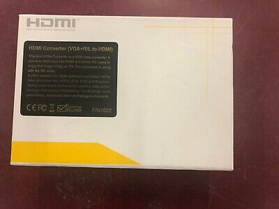 Monoprice HDMI Converter VGA & Audio to HDMI  Open box!! for sale  Shipping to India