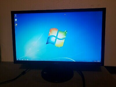 Acer V213HL  LED Backlit LCD Monitor 1920x1080 60hz with VGA & Power cord, stand