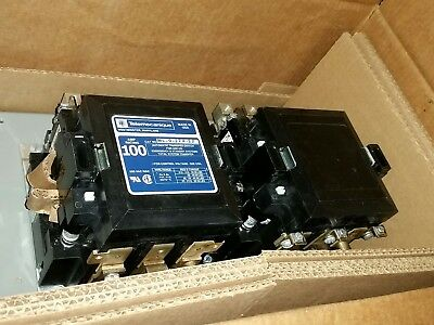 Mc-0-274-22 Telemecanique 100 Amp 3 Phase 208220v Transfer Switch Contactor
