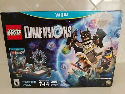 NEW NIB LEGO Dimensions Wii U  Starter Pack WB Games