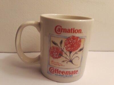 Carnation Coffee-Mate Vintage Coffee Mug 1993 Non-Dairy Creamer Carnation Coffee Mate Coffee Creamer