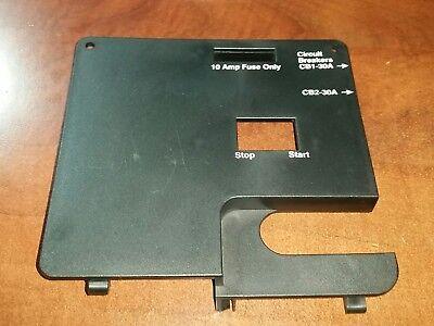 319-1238 A1 Onan Emerald Genset Plastic Control Box Cover New