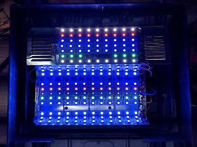 Full spectrum 45W LED retrofit upgrade - Bio Cube 8 gallon reef aquarium light