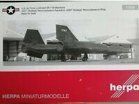 Herpa 559195-1//200 U.S Air Force Lockheed Martin U-2R Dragon Lady Neu