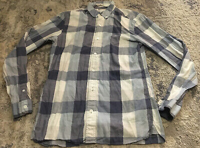 Burberry Brit Button Up Dress Shirt Mens Small