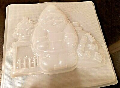 Molde de plastico para gelatina Santa Claus Plastic Gelatin Mold Santa Claus comprar usado  Enviando para Brazil