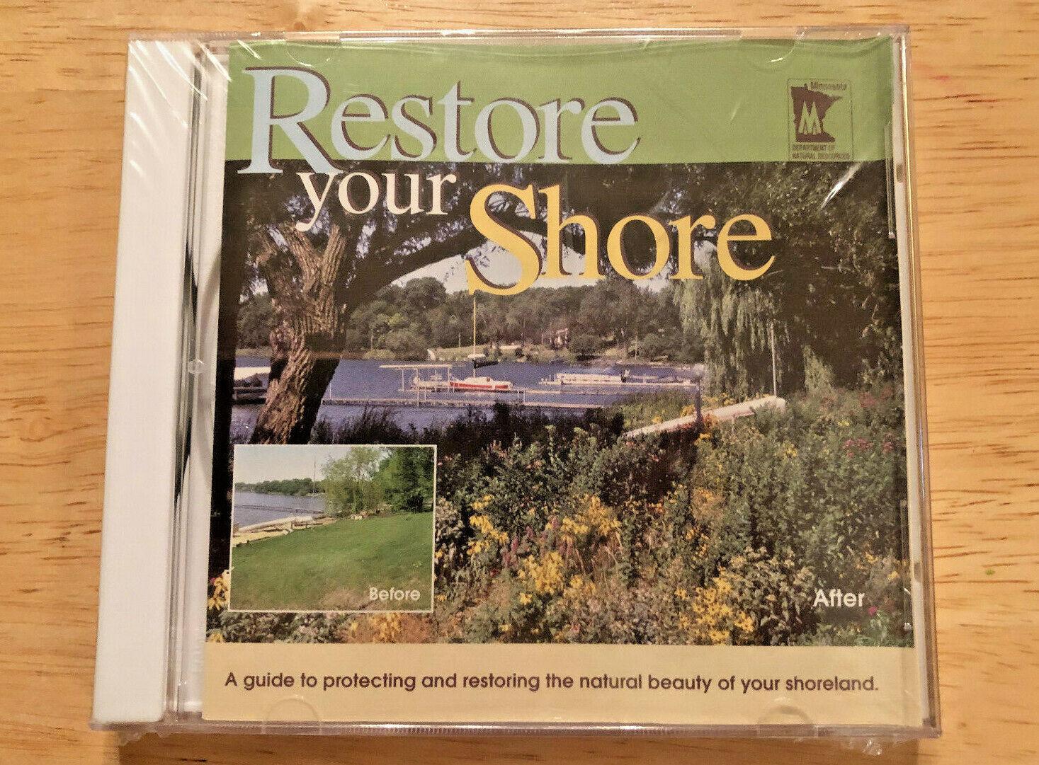 Restore Your Shoreline CD 2002 Minnesota Department Natural Resources - $9.95