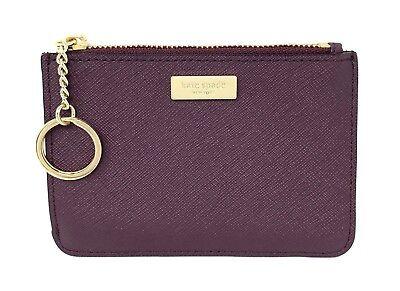 Kate Spade Laurel Way Bitsy Small Wallet Key Coin Purse Mahogany WLRU2671 $79