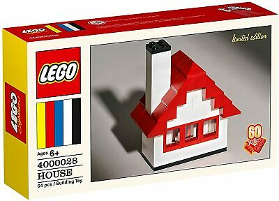 LEGO-400028-House-60th Anniversary-Limited Edition-New in Sealed Box!