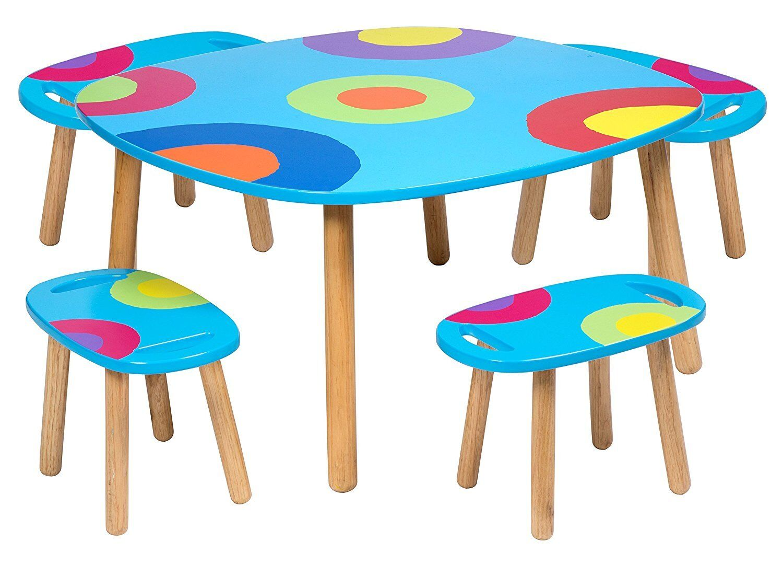 Alex Toys Artist Studio Ready Set Arts Craft Children S Table And 4 Stools 731346071231 Ebay