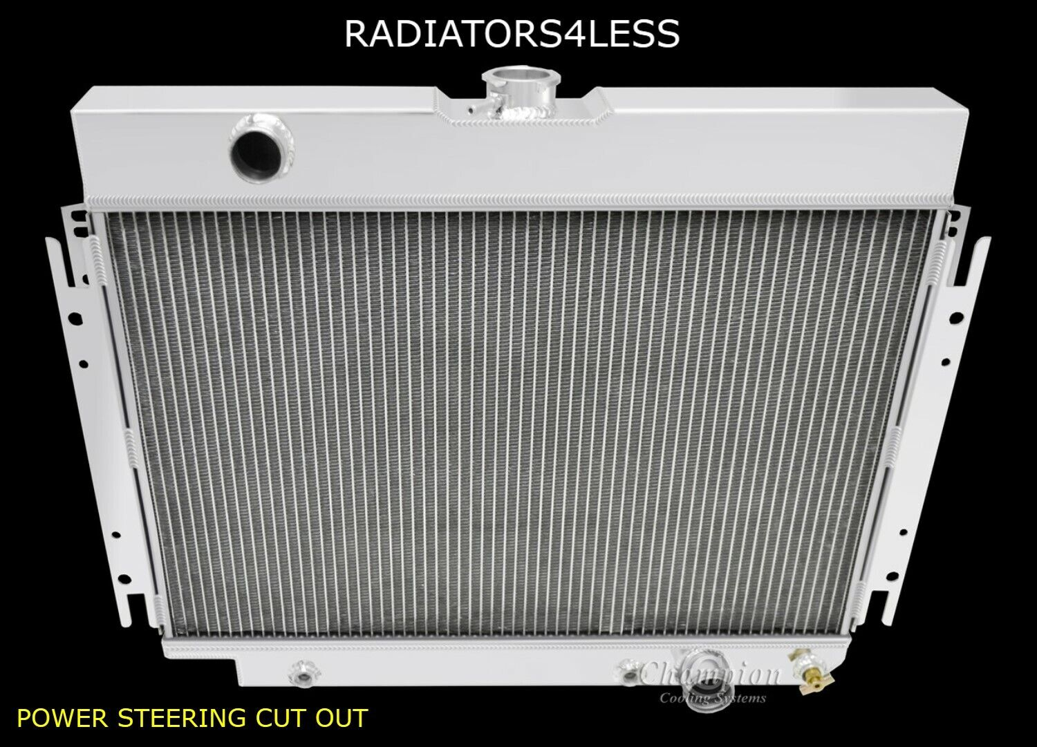 3 row Aluminum Radiator Fit 1963-68 Chevy Impala CHEVY Bel Air //Caprice//Chevelle