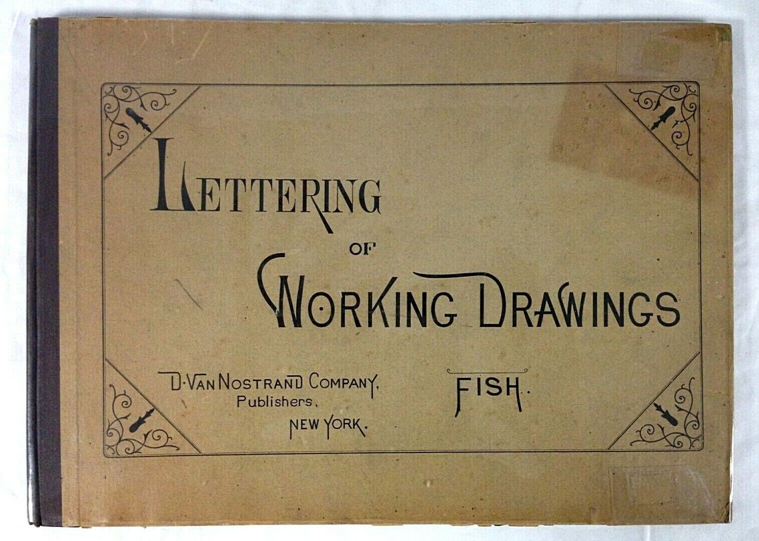 1bf4eb415a9e Lettering Of Working Drawings by JCL Fish (Hardback, 1900)
