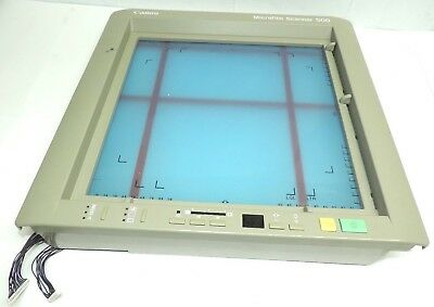 Canon Ms 500 Microfilm Scanner Front Screen With Adjustable Guide Lines
