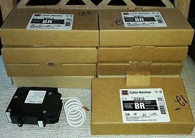 Cutler Hammer Gfcb115 Circuit Breakers Br 15a 1p 120v60hz