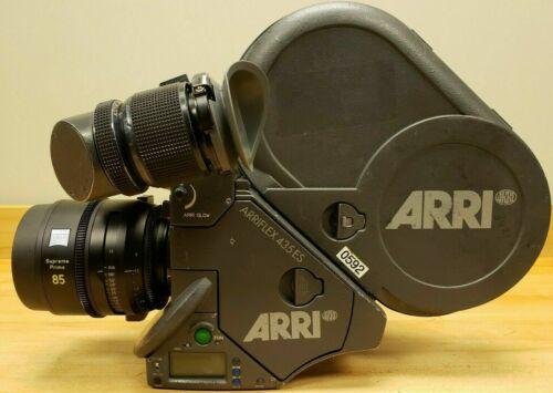 ARRI Arriflex 435 ES Film Camera w/ IVS 4 PERF 35mm with 2 Mags/Accessories
