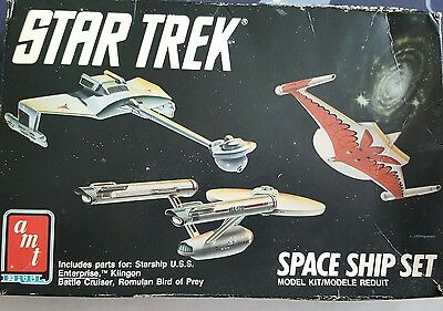 Star Trek Space Ship Set (Approx year 1989)