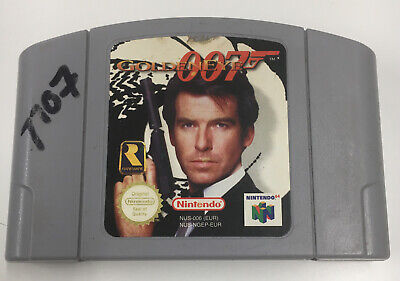 James Bond GoldenEye 007 - N64 Nintendo 64 - Genuine UK Cart - Free Postage