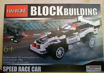 HAHAone RC Building Block Speed Race Car with Remote Control  FREE SHIPPING!!!