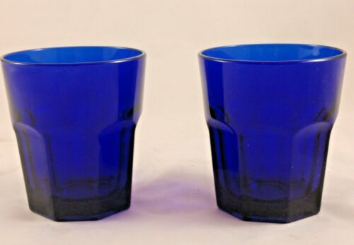 Old Williamsburg Deep Blue Ultra (2) Juice Glass by IMPERIAL GLASS