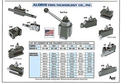 Aloris Cxa Quick Change Lathe Tool Post 10 Holder Set 3-as