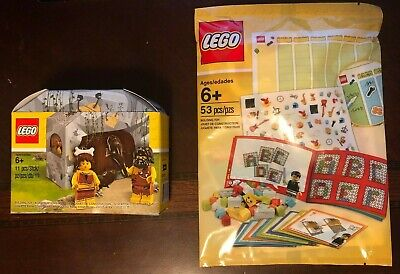 NEW Lego Iconic Cave Minifigurines 5004936 & Build to Learn Pack polybag 5004933