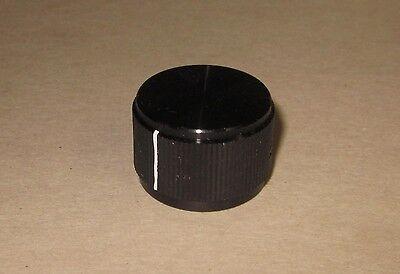 Solid Aluminum Control Knob Black 1516x58 23.75x16mm Hi-fi Volume Tone 6mm