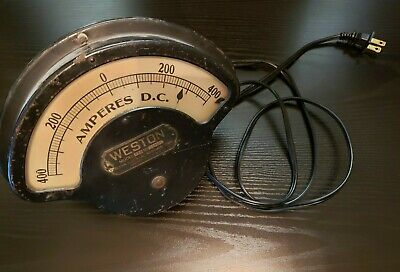 Weston Model 273 No. 12686 Vintage Amp Meter