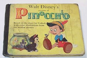 Walt Disney's Version of PINOCCHIO 1939