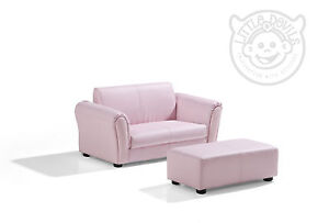 Pink Lazybones Kids Twin Sofa Chair Armchair Sofa For