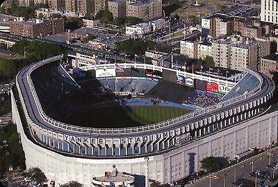 Aerial View of Yankee Stadium New York, MLB Baseball, Bronx NY Sports - (Aerial View Yankee Stadium)