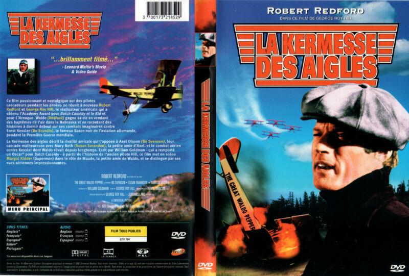 DVD - LA KERMESSE DES AIGLES - R.Redford, S.Sarandon, M.Kidder, G.R.Hill