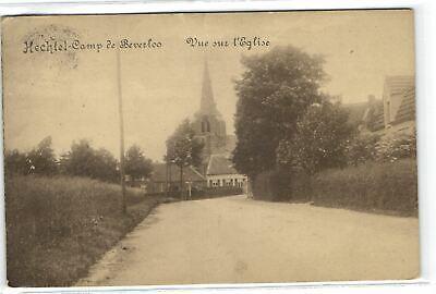 1 Postcard Limburg Hechtel-Eksel Camp de Beverloo - Vue sur l'Eglise
