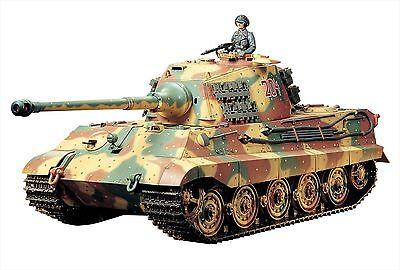 Tamiya 1/16 RC Tank No.17 German Heavy Tank King Tiger Full Operations Set