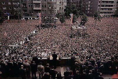 President John F. Kennedy Speech in Berlin 1963, Ich bin ein Berliner -