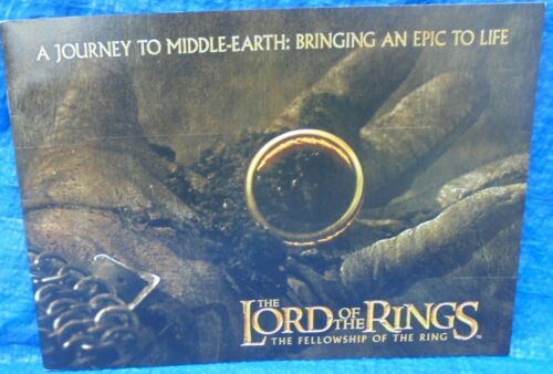 Lord Of The Rings  Fellowship Of The Ring Movie Program Journey To Middle Earth