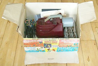 Rare Boxed Vintage 1960's Chad Valley Super Show Projector