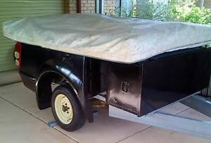 Galaxy 18 camper on custom trailer South Lake Cockburn Area Preview