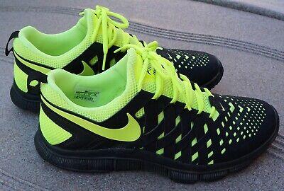 RARE🔥 Nike Free Trainer 5.0 Weave Fingertrap YELLOW Sz 10