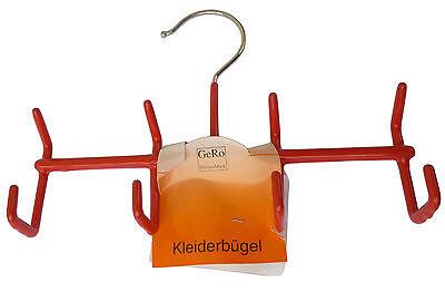 Gürtelbügel 4 Haken rot ++ MADE IN GERMANY ++ Gürtelhalter Hakenbügel GeRo 902