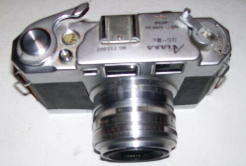 Rare Aires 35-III L 35mm Rangefinder Film Camera w/ 45mm f/1.9 Lens, Japan Leica