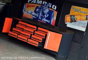 ALL STEEL BENCH WITH DRAWS Oxenford Gold Coast North Preview