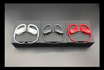 2020 Beats by Dr. Dre Powerbeats4 High Performance Wireless Headphones Black Red