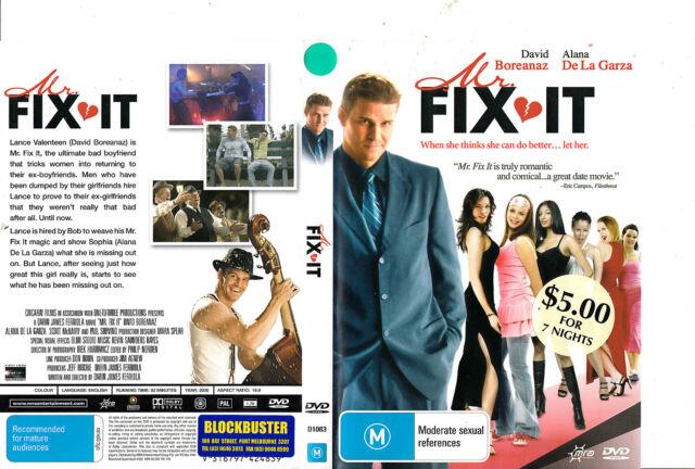 Mr Fix It-2008-David Boreanaz- Movie-DVD