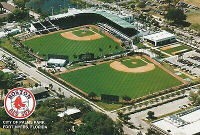 Tough to Find Boston Red Sox City of Palms Park Spring Training Stadium Postcard