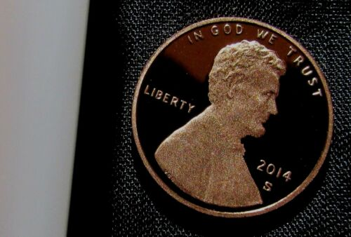 2014-S San Francisco Mint Lincoln Shield Cent Proof