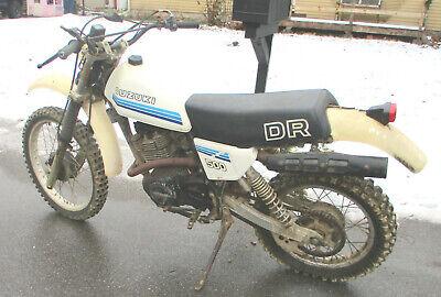1981 Suzuki DR500 Fixer Upper overall good shape Vintage Enduro Needs bit of TLC