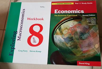Macroeconomics textbook textbooks gumtree australia perth city economics yr 11 study guide exploring macroeconomics workbook fandeluxe Choice Image